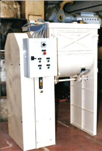 Soap amalgamator MS-1000 Mazzoni - Mixing process - Soap finishing line