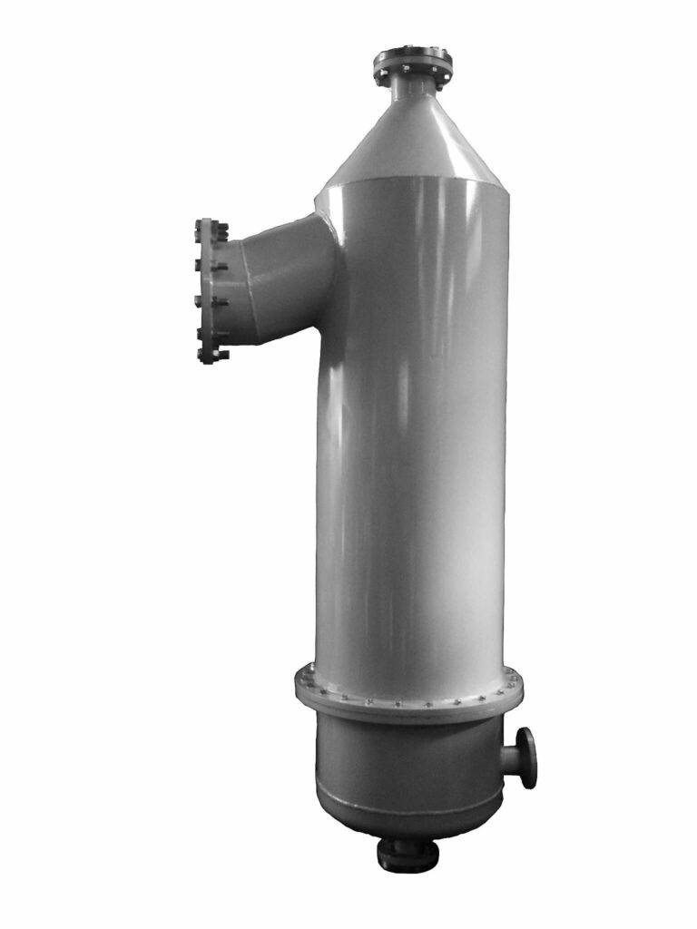 Barometric condenser for soap drying plant to use in the steam condensation step