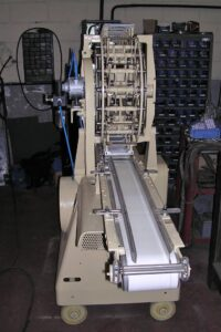 Soap Cutter TVA Mazzoni - Cutting process - Soap finishing line