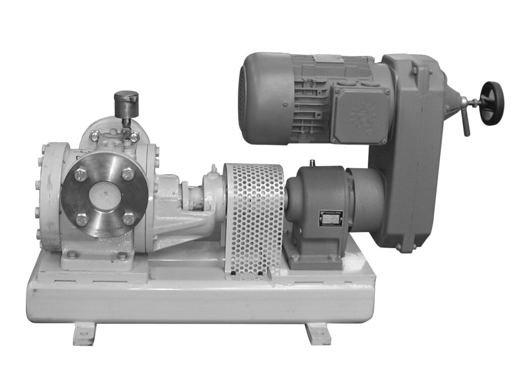 Filtration Pump for the soap drying plant to pump liquid soap to the filter soap