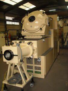 Compresora B-300 Duplex Mazzoni - Etapa de refinado - Línea de acabado de una fábrica de pastillas de jabón