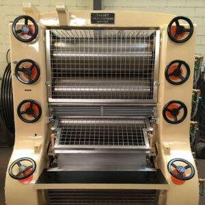 Roll Mill RM 400-5 Lehmann - Refining process - Soap finishing line