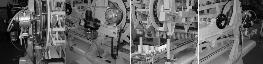 Soap cutters parts overhauled and rebuilt - Cutting process - Soap finishing line