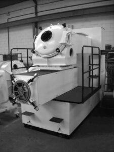 Extrusora / Compresora para refinar o extruir el jabón en una línea de acabado de una fábrica de pastillas de jabón