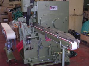Soap stamper SAS Condor - Stamping process - Soap finishing line