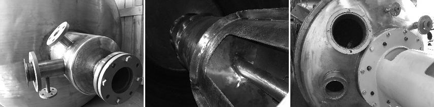 Partes de Crutcher/Batidora - Etapa de Saponificación de Jabón