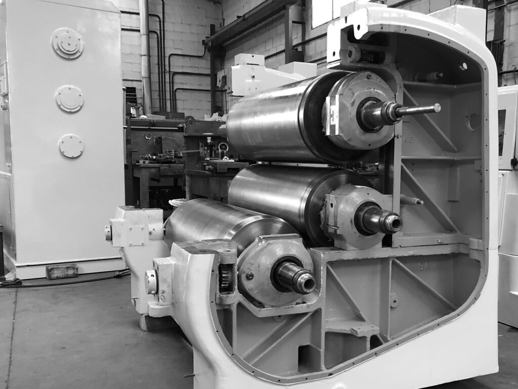 Soap Roll Mill Overhauled