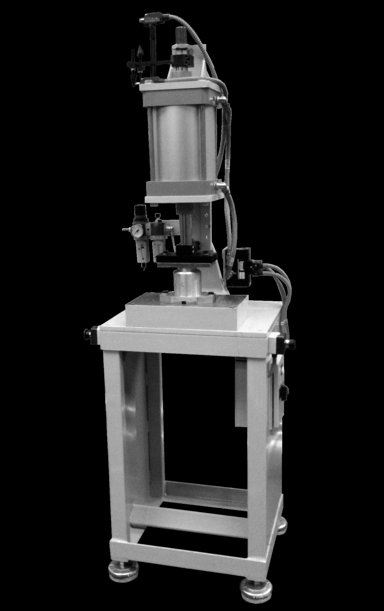 Troqueladora semiautomática de pastillas de jabón para pequeña producción