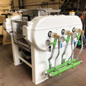 Roll Mill RM 280-3 Vickers - Refining process - Soap finishing line