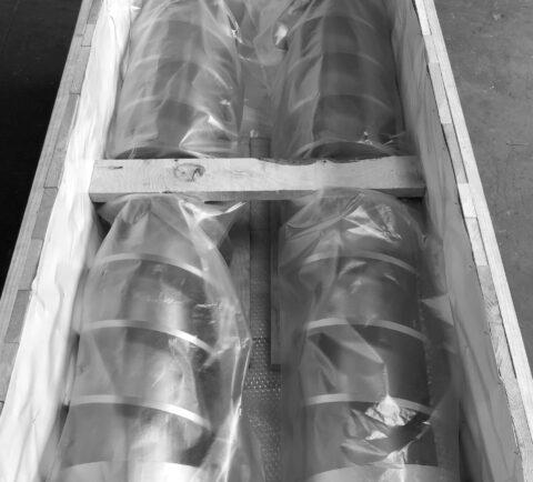 Hélice para Refinadora de Jabón en Pastilla - Proceso de Refinación
