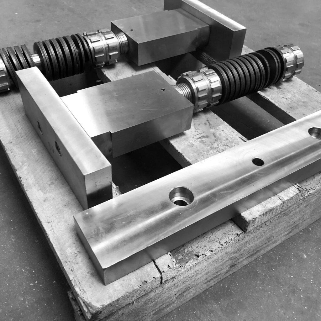 Die set spare part - Quater Stamper - Stamping process