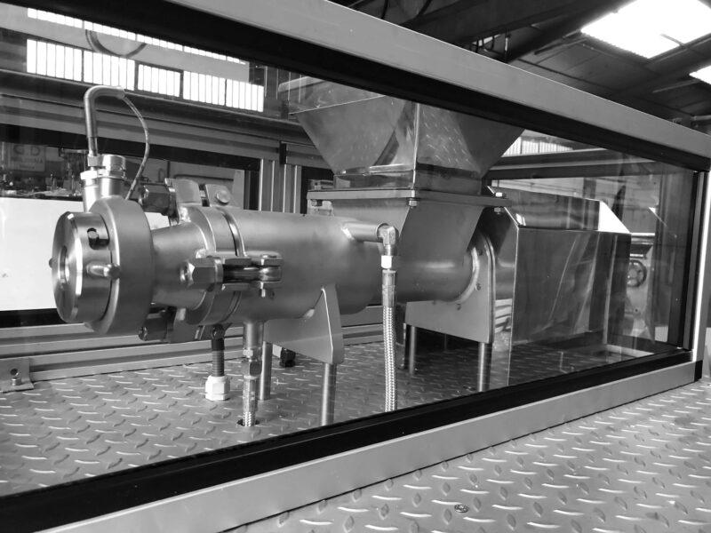 Laboratory Plodder - IMJ M-75 - Extrusion process