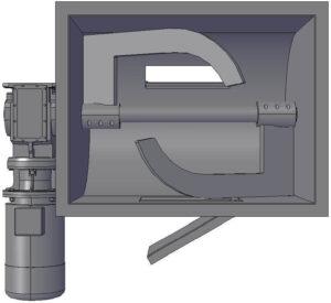 Open Sigma Blades - Soap Mixer