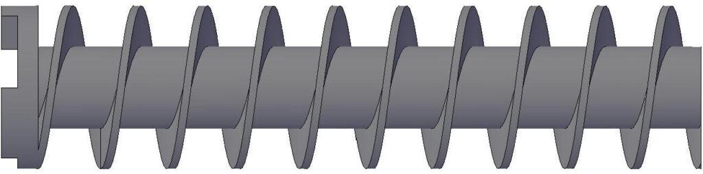 Hélice Tipo Constant - Hélice / Tornillo sin Fin para Compresora