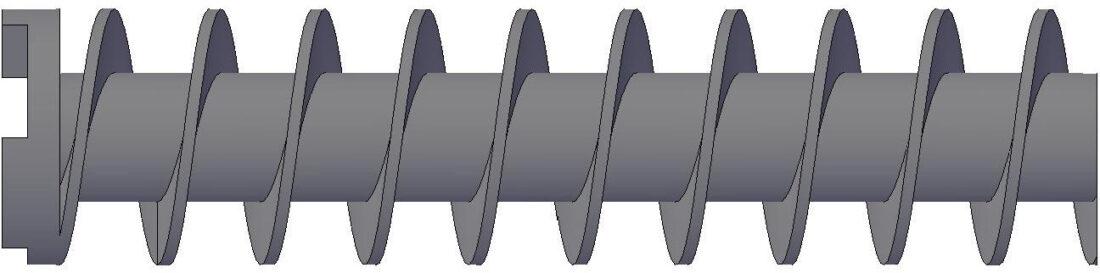 Constant Type - Plodder Screw / Worm