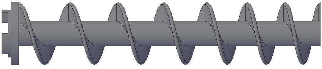 High Efficiency Type - Plodder Screw / Worm