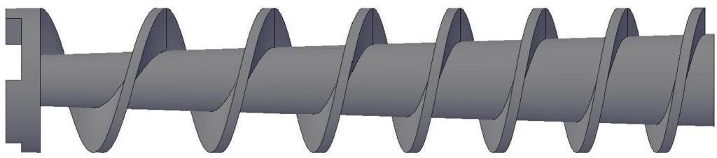 High Volume Type - Plodder Screw / Worm