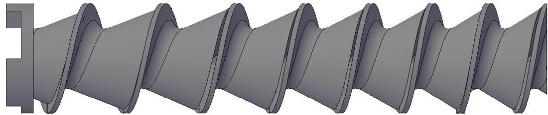 Sega Type - Plodder Screw / Worm