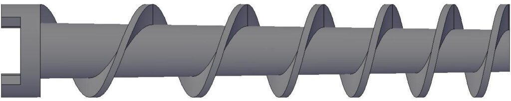 Hélice Tipo Syndet - Hélice / Tornillo sin Fin para Compresora