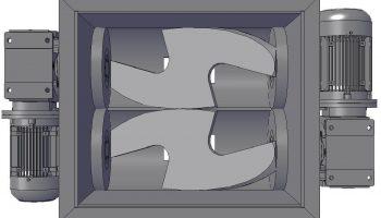 Double Sigma Blades - Soap Mixer